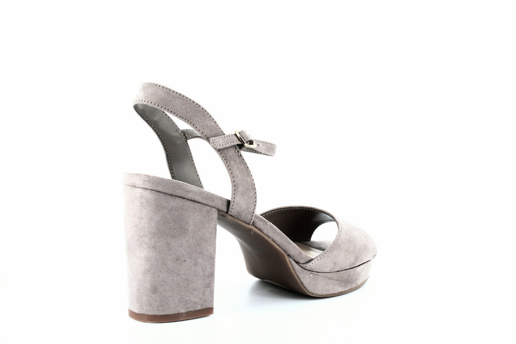 Yieldings Discount Shoes Store's Callista Platform Sandals by Bar III in Taupe