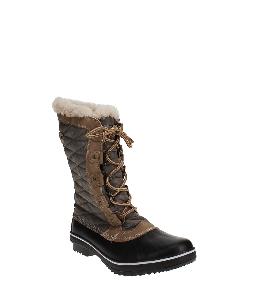 Yieldings Discount Shoes Store's Lorna Encore Winter Boots by JBU By Jambu in Taupe
