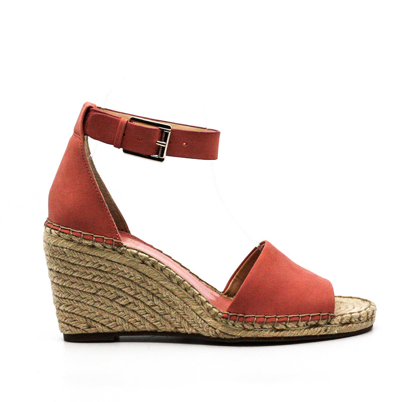 Yieldings Discount Shoes Store's Leera Wedge Sandals by Vince Camuto in Flamingo