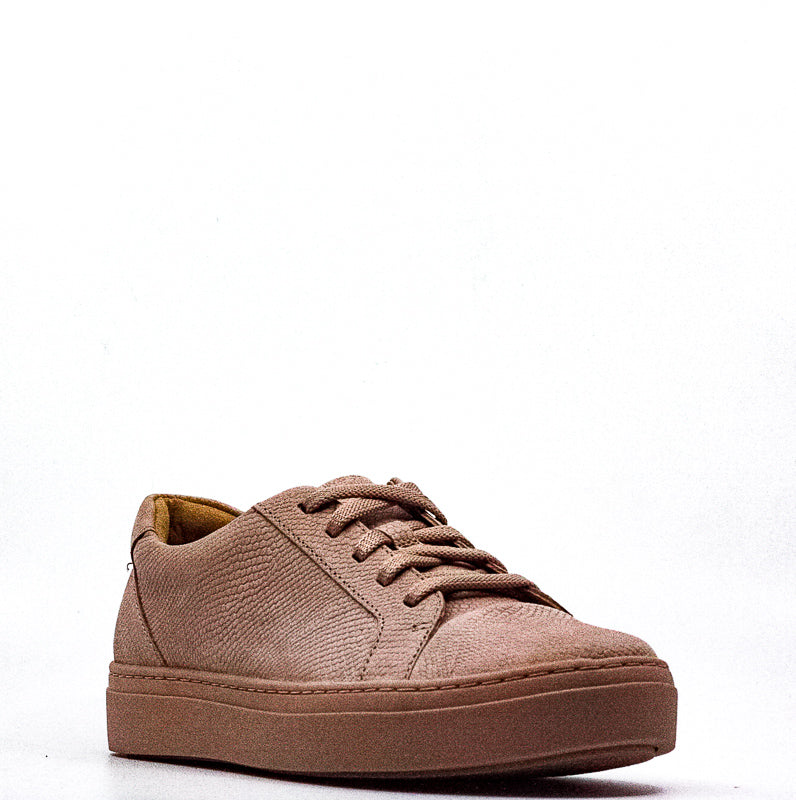 Yieldings Discount Shoes Store's Cairo Snake Leather Sneakers by Naturalizer in Mauve