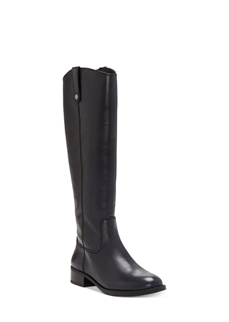 Yieldings Discount Shoes Store's Fawne Knee High Riding Boots by INC in New Navy