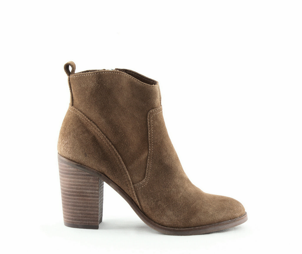 Yieldings Discount Shoes Store's Saint Suede Boots by Dolce Vita in Brown Suede