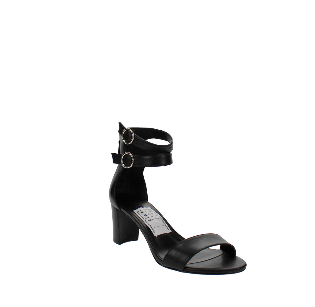 Yieldings Discount Shoes Store's Parlans Dress Sandals by Nine West in Black