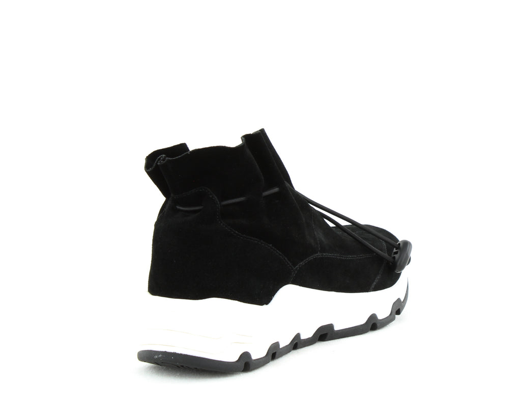 Yieldings Discount Shoes Store's Ikke Suede Sneakers by Opening Ceremony in Black