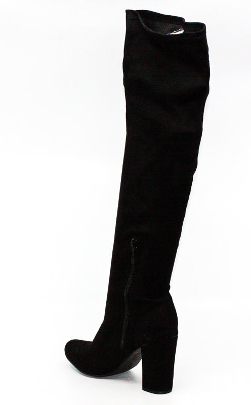 Mia | Serena Embroidered Knee High Boots