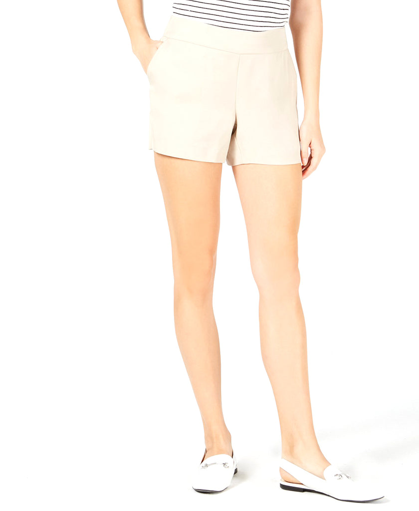 Yieldings Discount Clothing Store's Pull-on Shorts by Maison Jules in Oxford Tan
