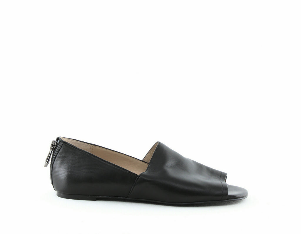 Yieldings Discount Shoes Store's Maxine Peep Toe Flats by Botkier in Black