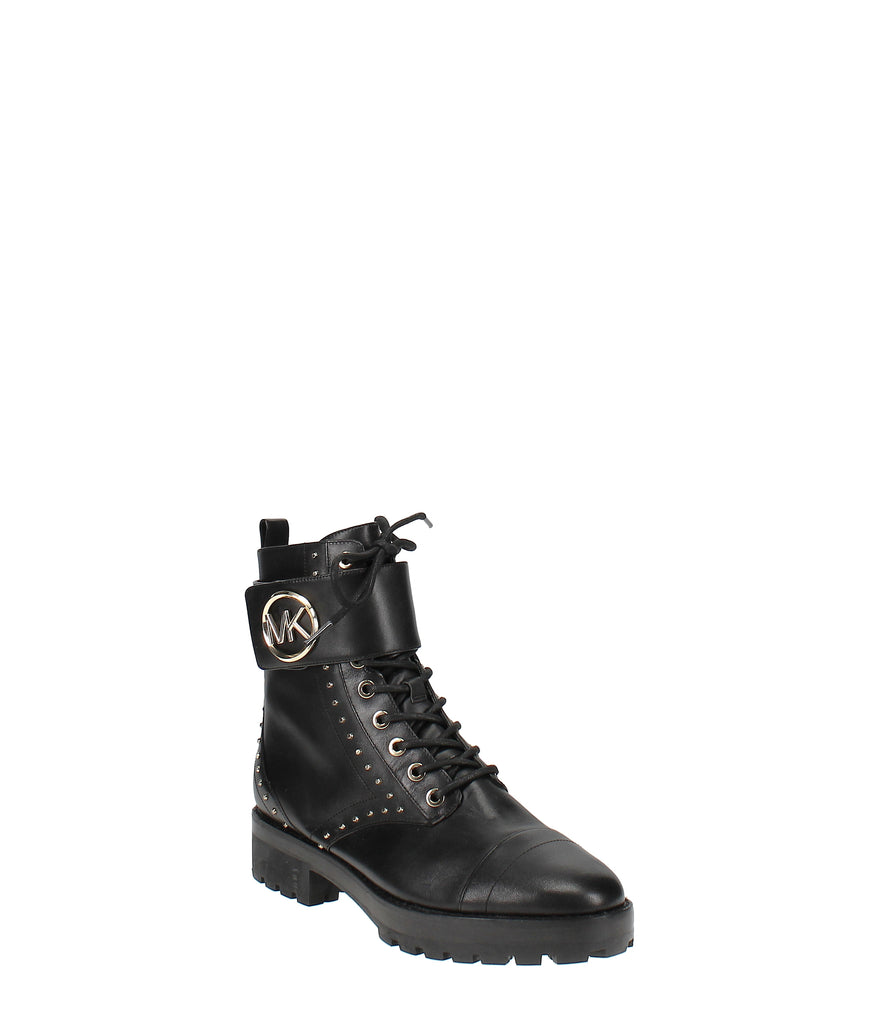 Yieldings Discount Shoes Store's Tatum Ankle Boots by MICHAEL Michael Kors in Black