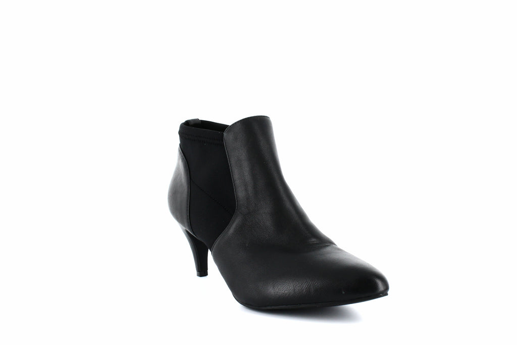 Yieldings Discount Shoes Store's Hazzel Ankle Booties by Alfani in Black