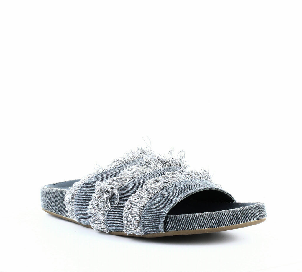 Yieldings Discount Shoes Store's Jaden Slide Sandals by Joie in Dark Denim