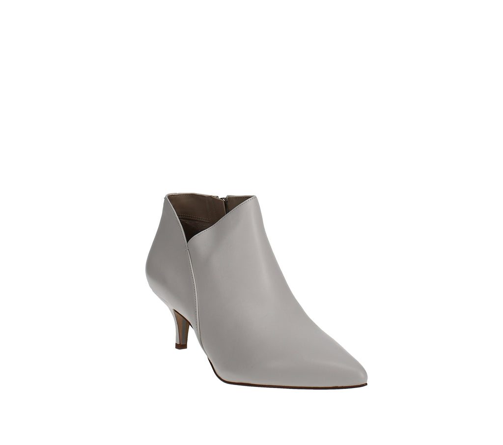 Yieldings Discount Shoes Store's Kadison Kitten-Heel Booties by Sam Edelman in White