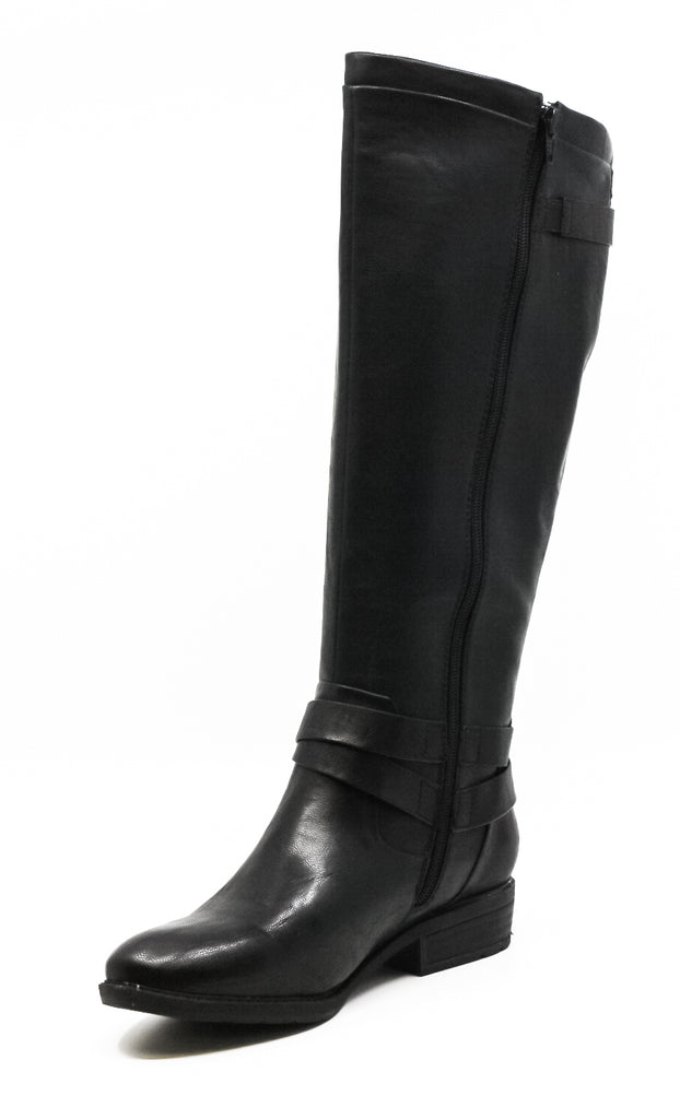 Yieldings Discount Shoes Store's Yalina Knee High Boots by Baretraps in Black