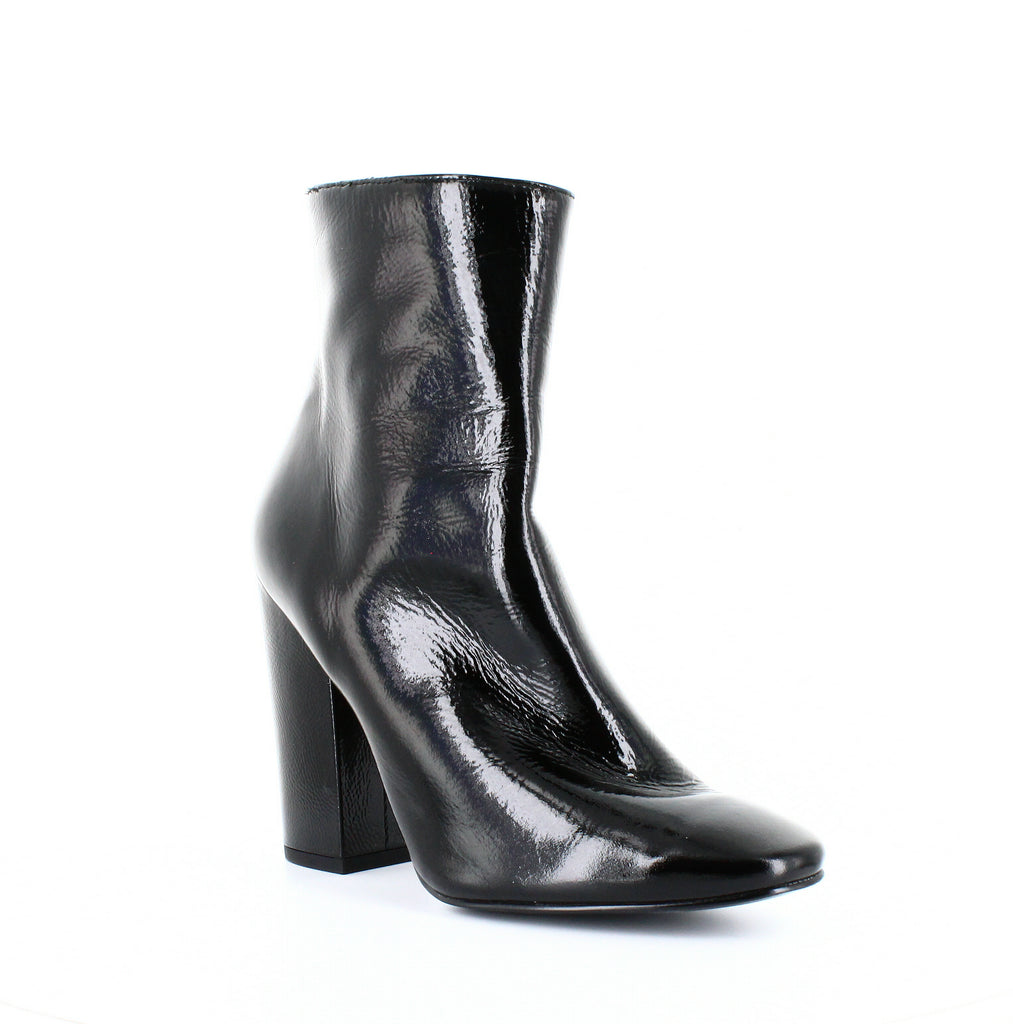 Yieldings Discount Shoes Store's Haedyn Ankle Booties by Kendall + Kylie in Black Patent