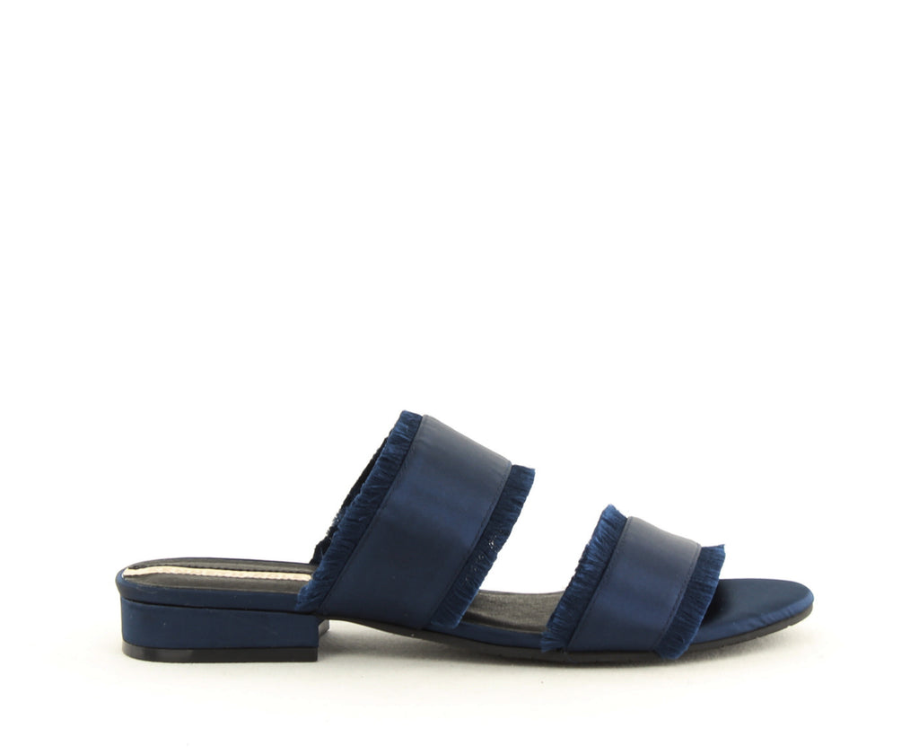 Yieldings Discount Shoes Store's Viola 2 Slide Sandals by Kenneth Cole in Navy