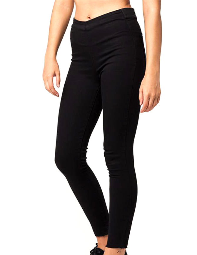 Yieldings Discount Clothing Store's Easy Goes It Jeggings by Free People in Black
