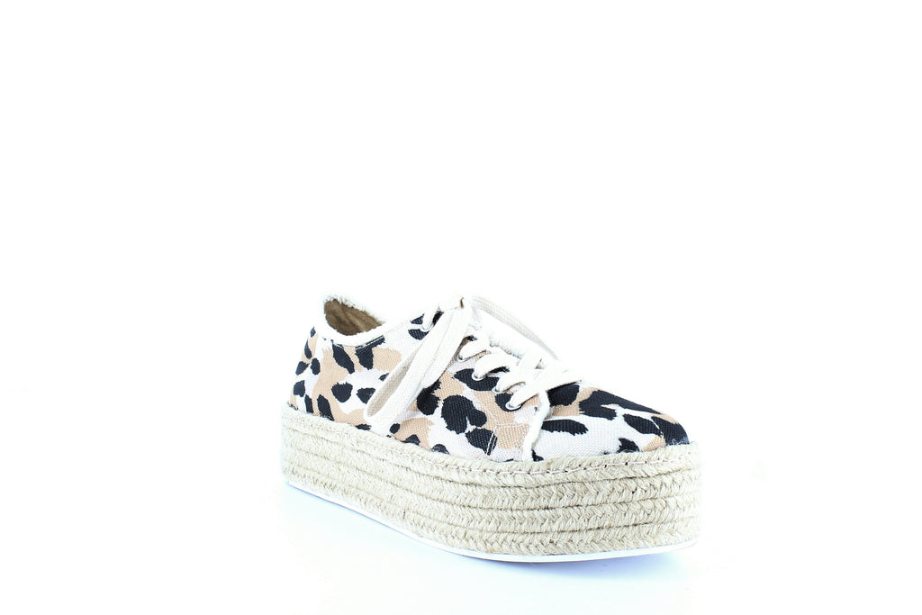 Yieldings Discount Shoes Store's Luana Espadrille Platform Sneakers by Schutz in Multineutro