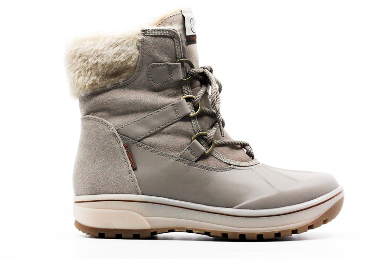 Yieldings Discount Shoes Store's Danula Boots by Baretraps in Taupe