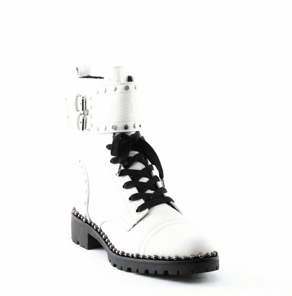 Yieldings Discount Shoes Store's Jennifer Leather Boots by Sam Edelman in White