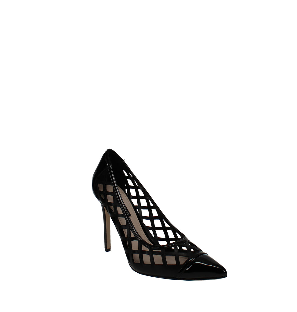Yieldings Discount Shoes Store's Tatum Cutout Pumps by Nine West in Black