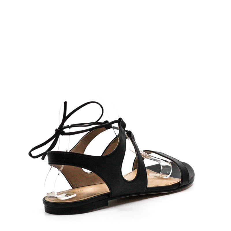 Yieldings Discount Shoes Store's Laceypl Sandals by Pour La Victoire in Black