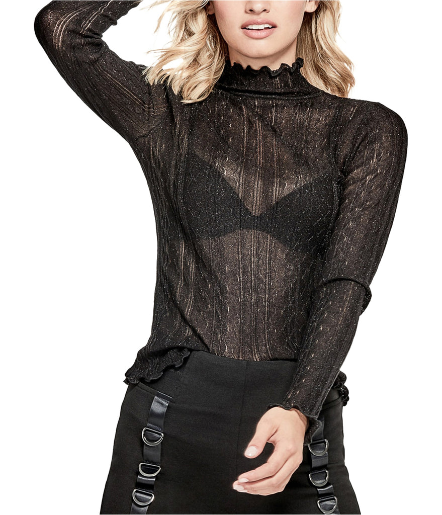 Guess | Allessa Sheer Lurex Sweater