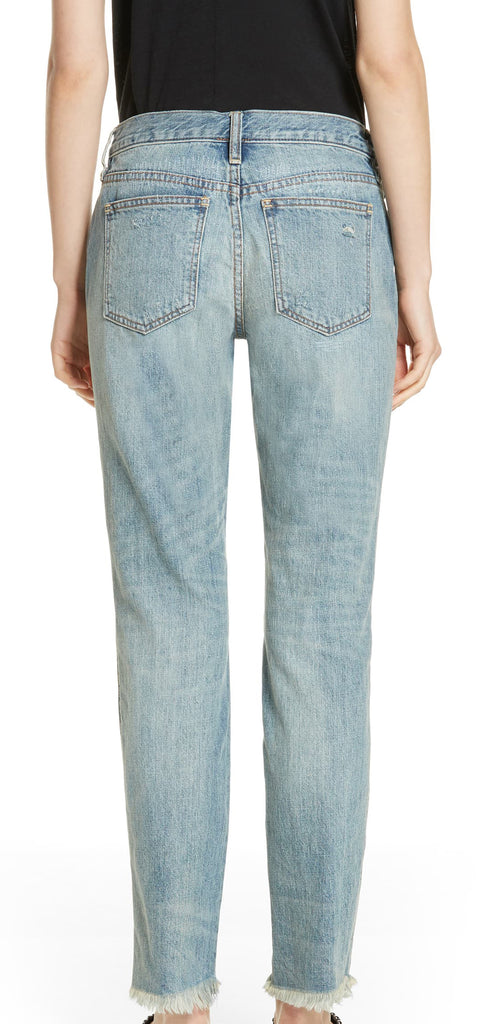 Yieldings Discount Clothing Store's Pioneer Skinny Jeans by Free People in Blue