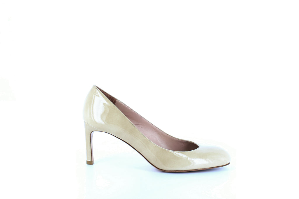Yieldings Discount Shoes Store's Moody Pumps by Stuart Weitzman in Bambina Aniline