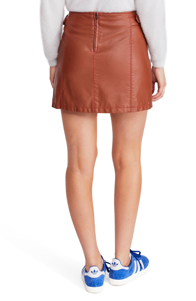 Free People | Charli Vegan A-Line Skirt