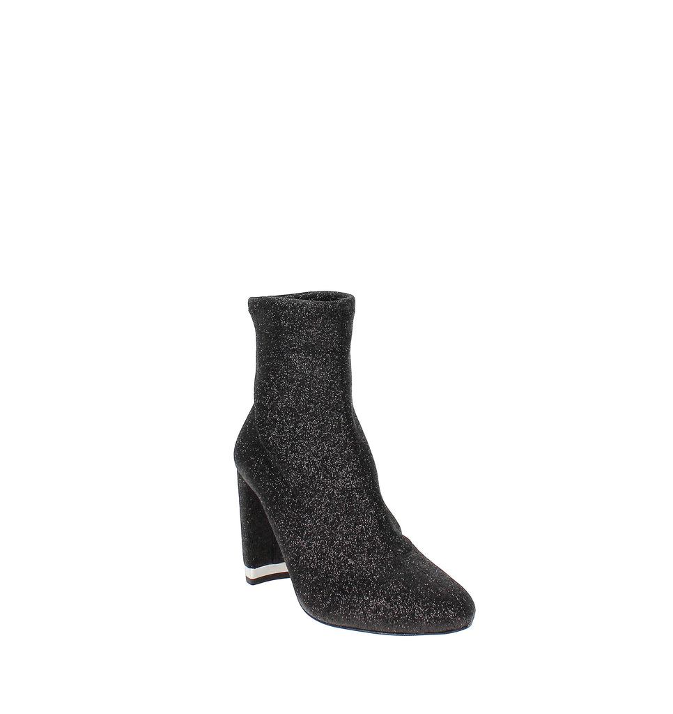 Yieldings Discount Shoes Store's Mandy Sock Booties by MICHAEL Michael Kors in Black