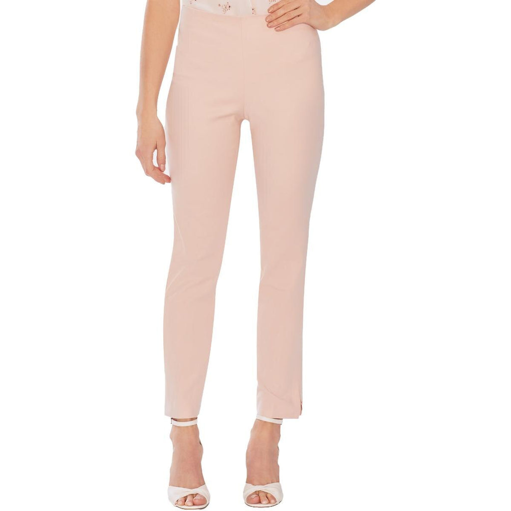 Yieldings Discount Clothing Store's Slit-Hem Pants by Vince Camuto in Peach Bellini
