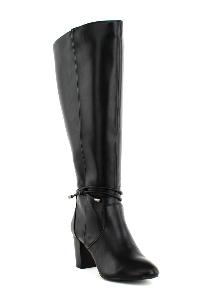 Yieldings Discount Shoes Store's Giliann Dress Boots by Alfani in Black
