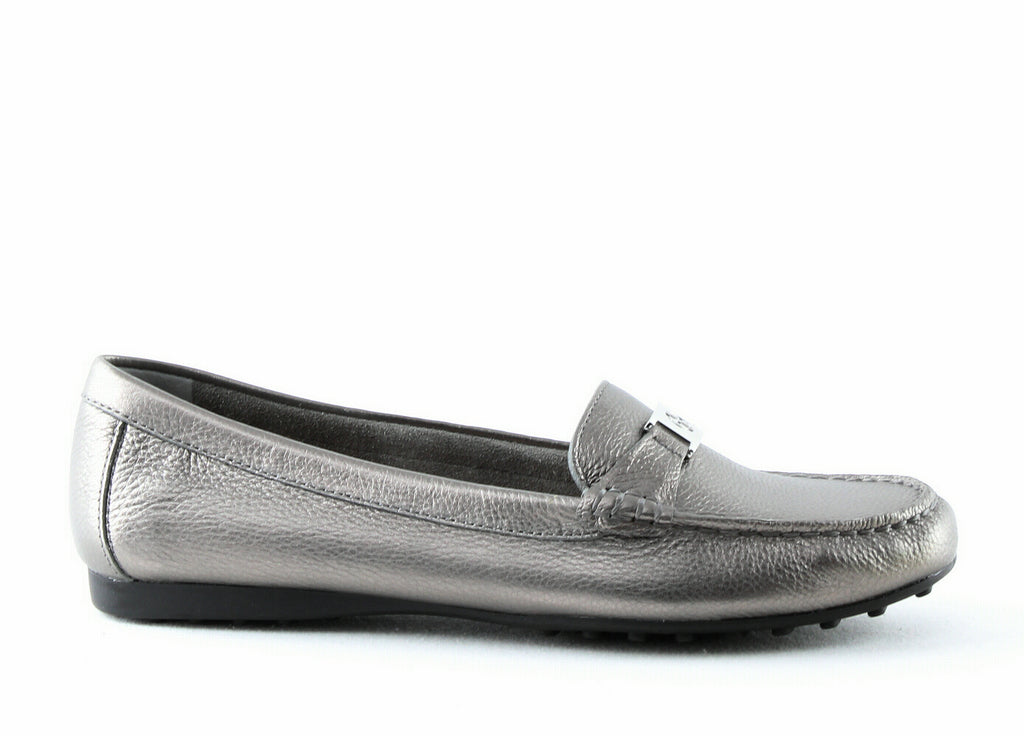 Yieldings Discount Shoes Store's Dailyn Loafers by Giani Bernini in Pewter Grey
