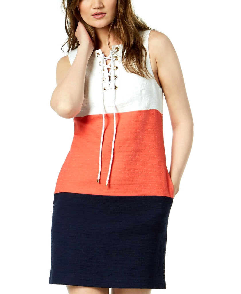 Trina Turk | Miss Brady Colorblocked Dress