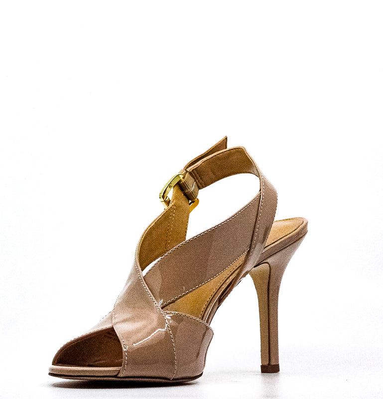 Yieldings Discount Shoes Store's Becky Patent Sandals by MICHAEL Michael Kors in Light Blush