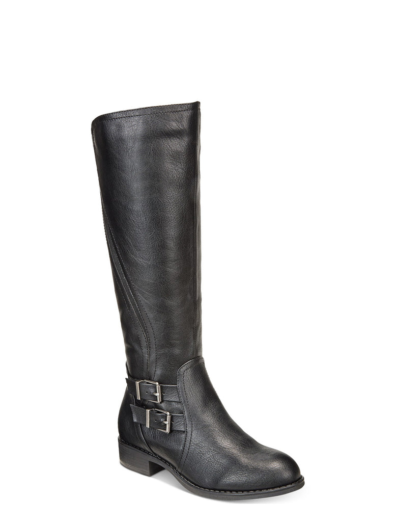 Yieldings Discount Shoes Store's Milah Tall Boots by Style & Co in Black
