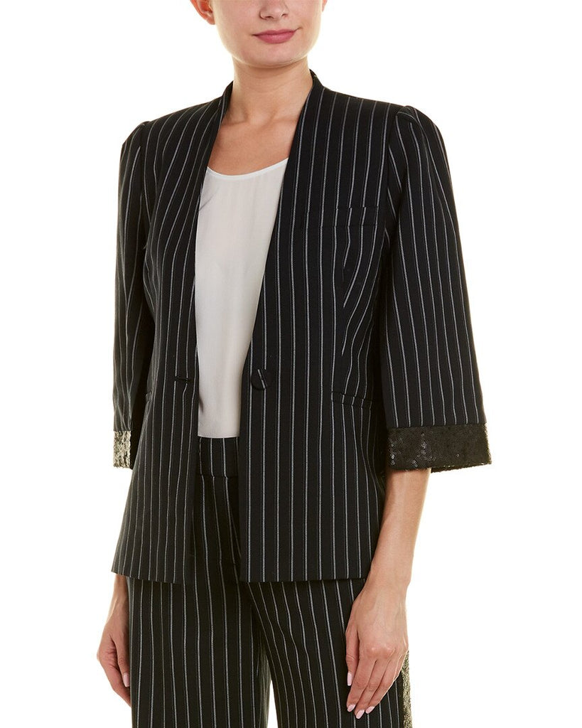 Yieldings Discount Clothing Store's Lina Blazer by Rachel Zoe in Midnight Navy
