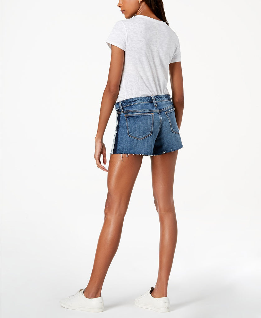 "Yieldings Discount Clothing Store's The Ozzie Frayed Denim 4"" Cut-Off Shorts by Joe's in Alma"