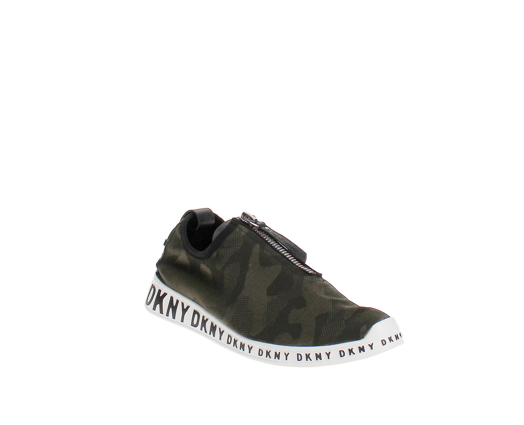 Yieldings Discount Shoes Store's Melissa Slip On Sneakers by DKNY in Camo