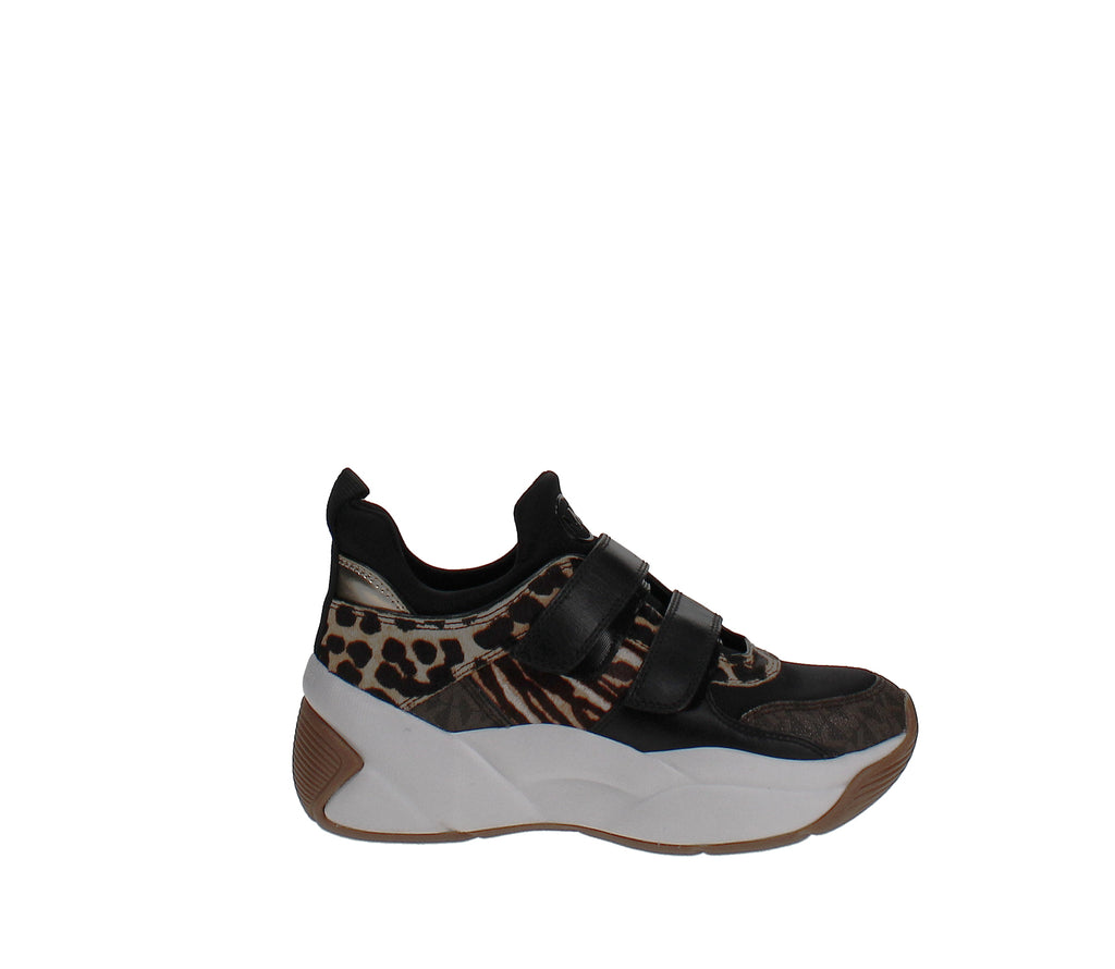 Yieldings Discount Shoes Store's Keeley Trainers by MICHAEL Michael Kors in Dark Camel