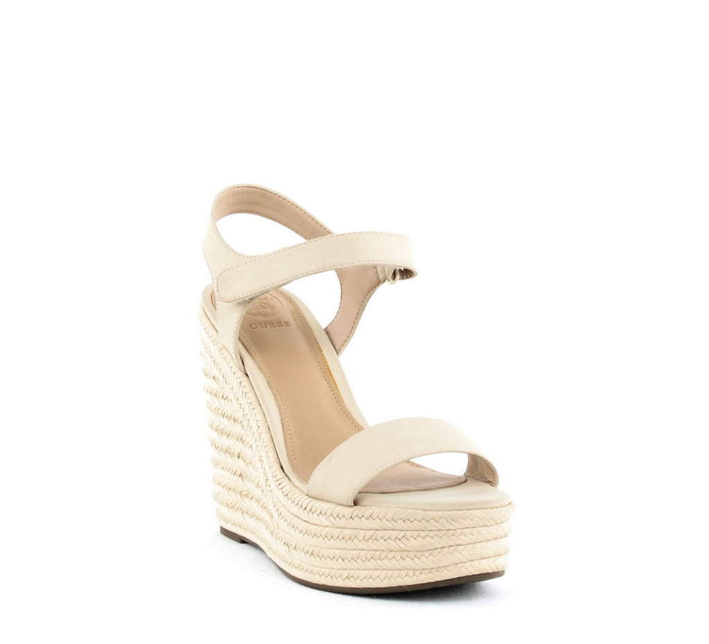 Yieldings Discount Shoes Store's Grand Espadrille Wedges by Kendall + Kylie in Light Natural