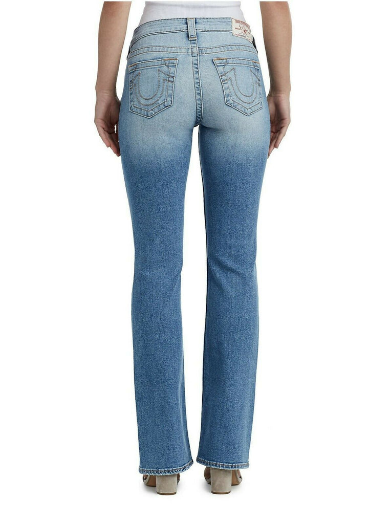 Yieldings Discount Clothing Store's Bootcut Jeans by True Religion in Aura Quartz