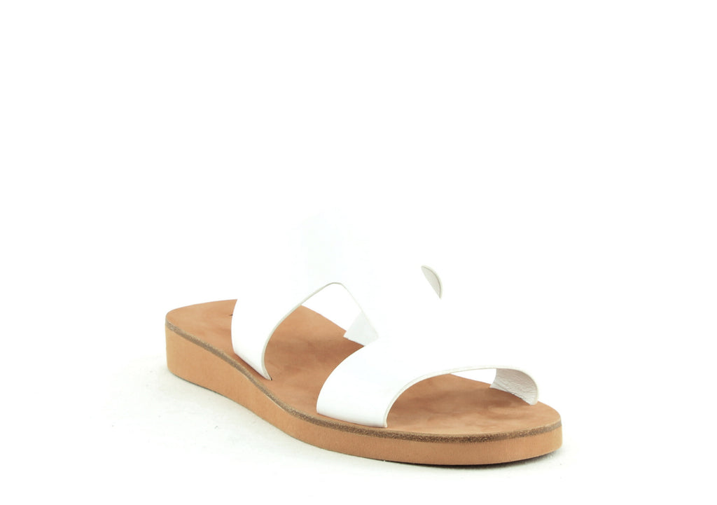 Yieldings Discount Shoes Store's Blanka Flat Sandal by Via Spiga in Porcelain