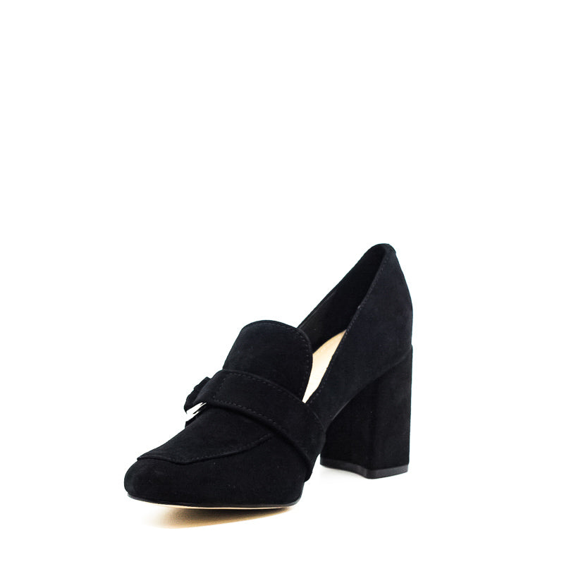 Marc Fisher | Caila2 Suede Block Heel Loafers