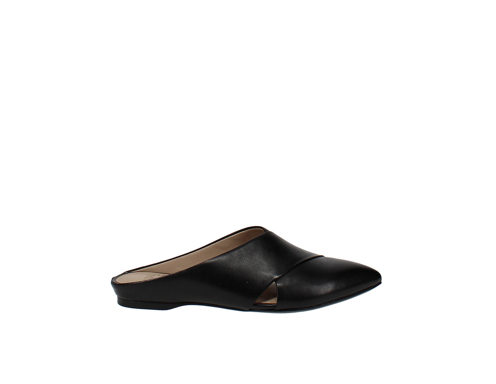Yieldings Discount Shoes Store's Simonette Mules by Naturalizer in Black Leather