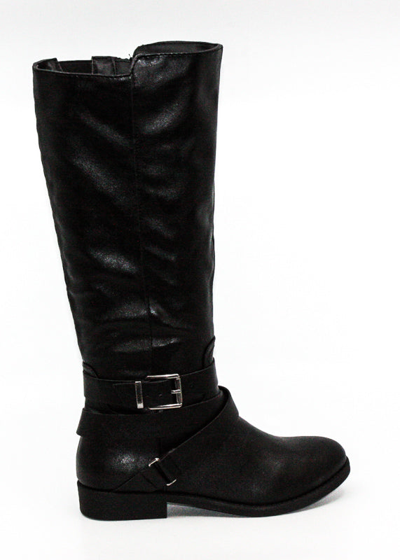Yieldings Discount Shoes Store's Keppur Riding Boots by Style & Co in Black