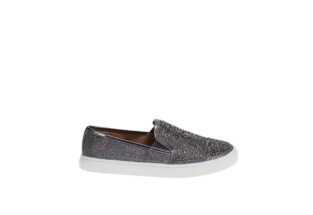Yieldings Discount Shoes Store's Sammee Slip-On Sneakers by INC in Pewter Bling
