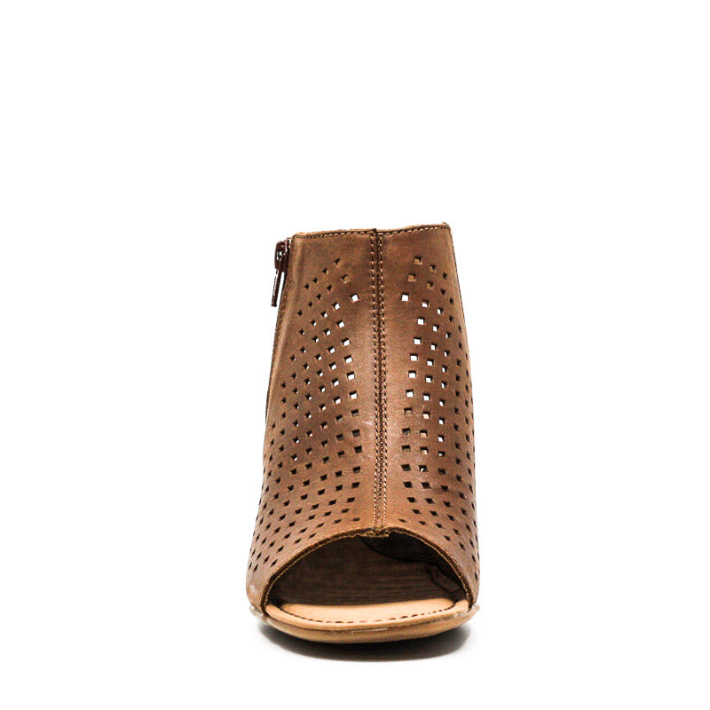 Yieldings Discount Shoes Store's Thebe Zipper Boots by BOC by Born in Cognac