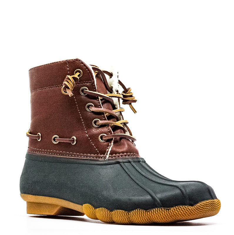 Yieldings Discount Shoes Store's Torrent Boots by Steve Madden in Green