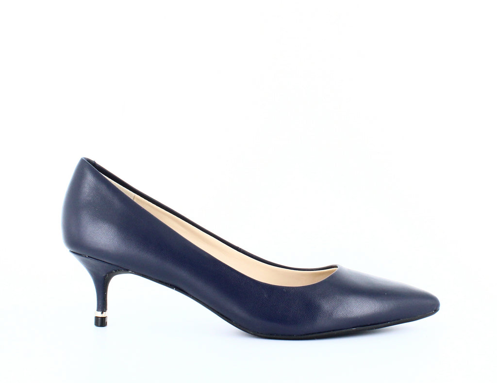 Yieldings Discount Shoes Store's Morgan Pumps by Kenneth Cole in Navy