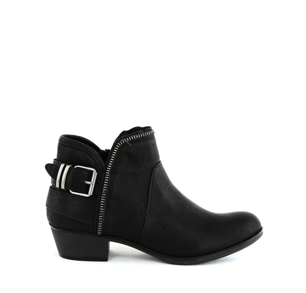American Rag Cie | Edee Faux Leather Block Heel Booties